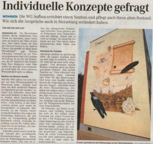 Mitteldeutsche Zeitung vom 26.07.2016