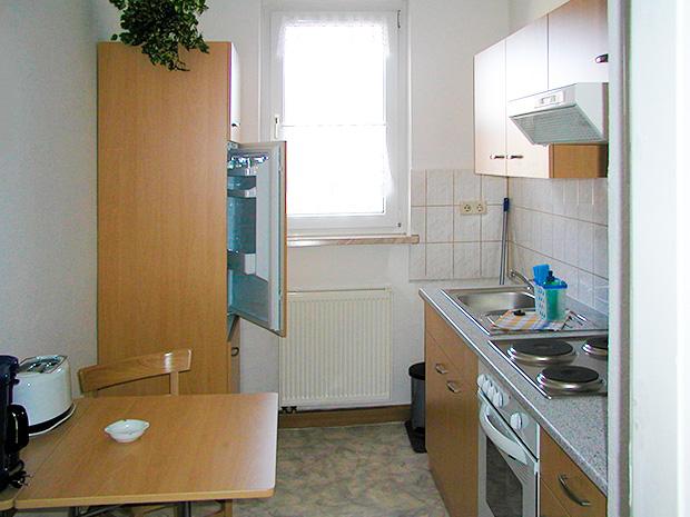 WG Aufbau Merseburg Küche in Gästewohnung in Merseburg West