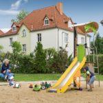 WG Aufbau Merseburg Spielplatz in Merseburg West