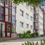 WG Aufbau Merseburg Wohnungen mit Aufzug