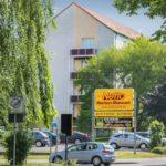 WG Aufbau Merseburg Einkaufsmöglichkeiten direkt vor der Nase