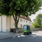 WG Aufbau Merseburg Kleine Häuser in gepflegtem Wohngebiet