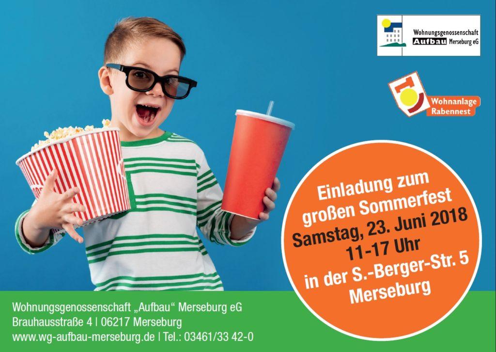 WG Aufbau Merseburg Sommerfest 2018 in Merseburg