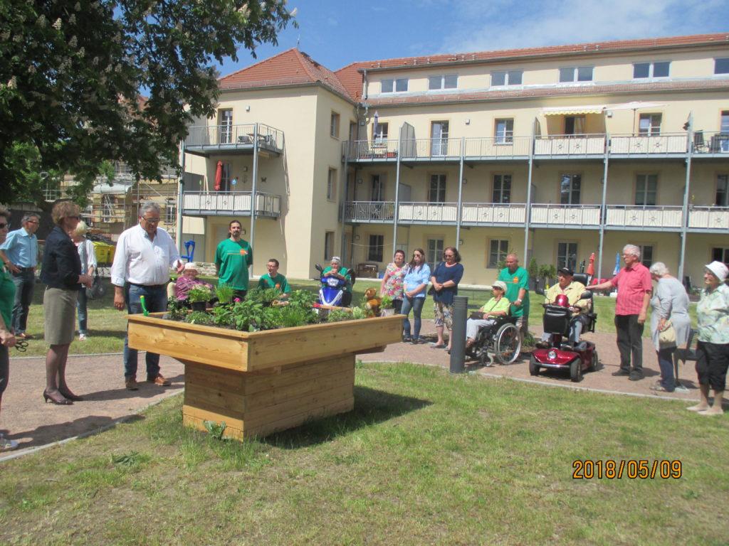 WG Aufbau Merseburg 2. Inklusionstage in Merseburg