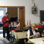 WG Aufbau Merseburg Adventskaffeetrinken in Merseburg 3