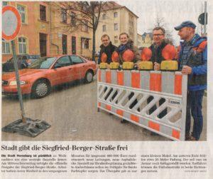 Sanierung Siegfried-Berger-Straße Merseburg