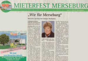 Mieterfest Merseburg